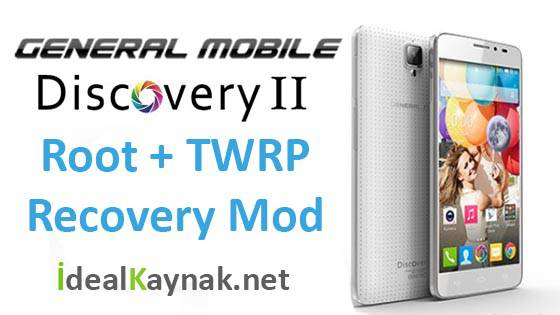 GM Discovery 2 Root Yapma + TWRP Recovery Mod Yükleme