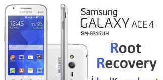 Galaxy Ace 4 SM-G316HU Root ve TWRP Recovery Yükleme